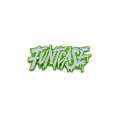 FUNTCASE LOGO GLOW IN THE DARK PIN