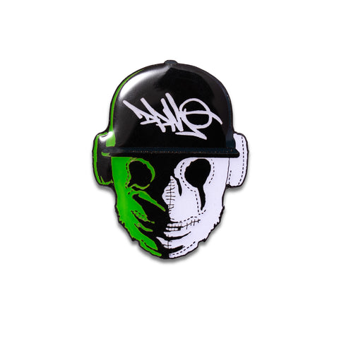 Funtcase Mask Glow In The Dark Pin