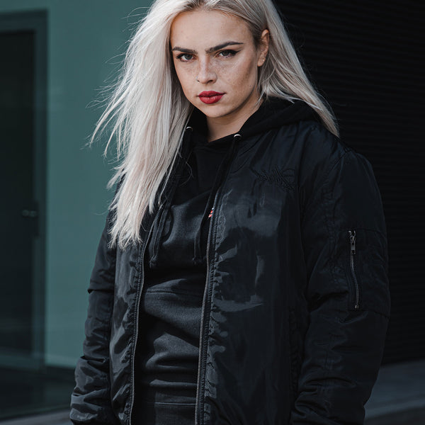 DPMO 'BLACKED OUT' BOMBER JACKET