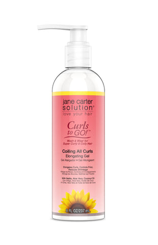 COILING ALL CURLS™ Elongating Gel Style Jane Carter Solution