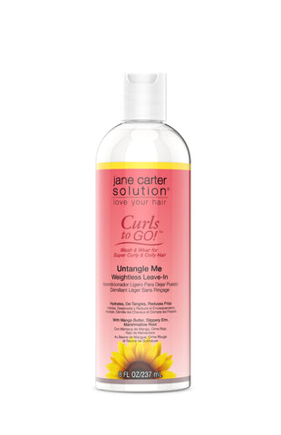 UNTANGLE ME™ Weightless Leave-In Conditioner Jane Carter Solution