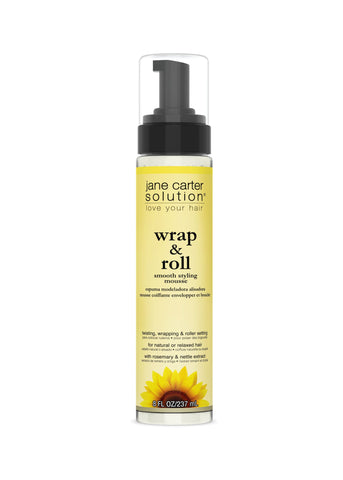 WRAP & ROLL™ Smooth Styling Mousse Style Jane Carter Solution