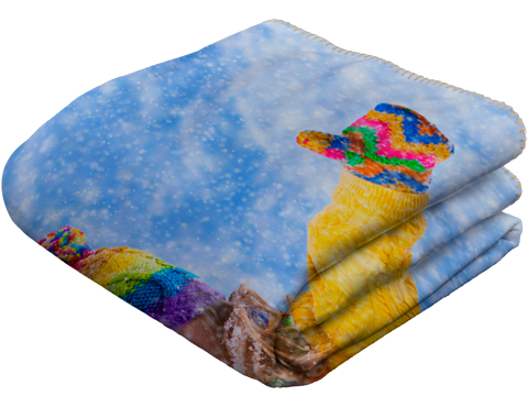 Sherpa Throw Photo Blankets