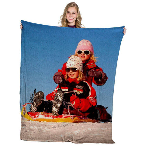 "Limited Edition!!! Heavyweight Plush Photo Blanket - 50"" x 60""-PersonalThrows"