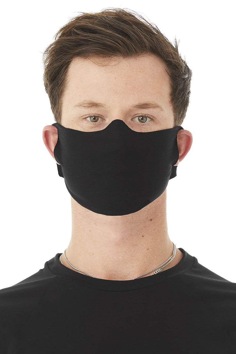 DAILY FACE COVER - Black - One Size - Pack of 120 ($2.00/unit)