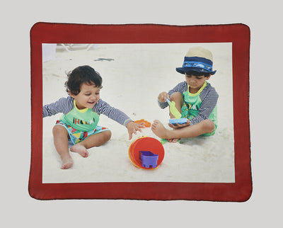 "New! Heavyweight Polar Fleece Photo Blanket - 50"" x 60"""