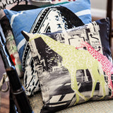 "18"" Cotton Twill Photo Pillow"
