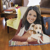 "Jacquard Woven Photo Blanket - 52"" x 37"" (Small)"