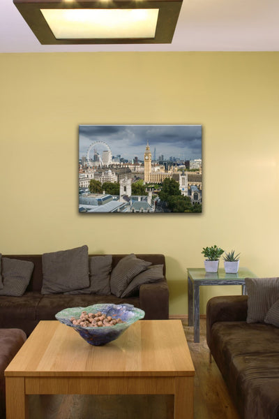 "Palace of Westminster, Big Ben (10"" x 14"") - Canvas Wrap Print"