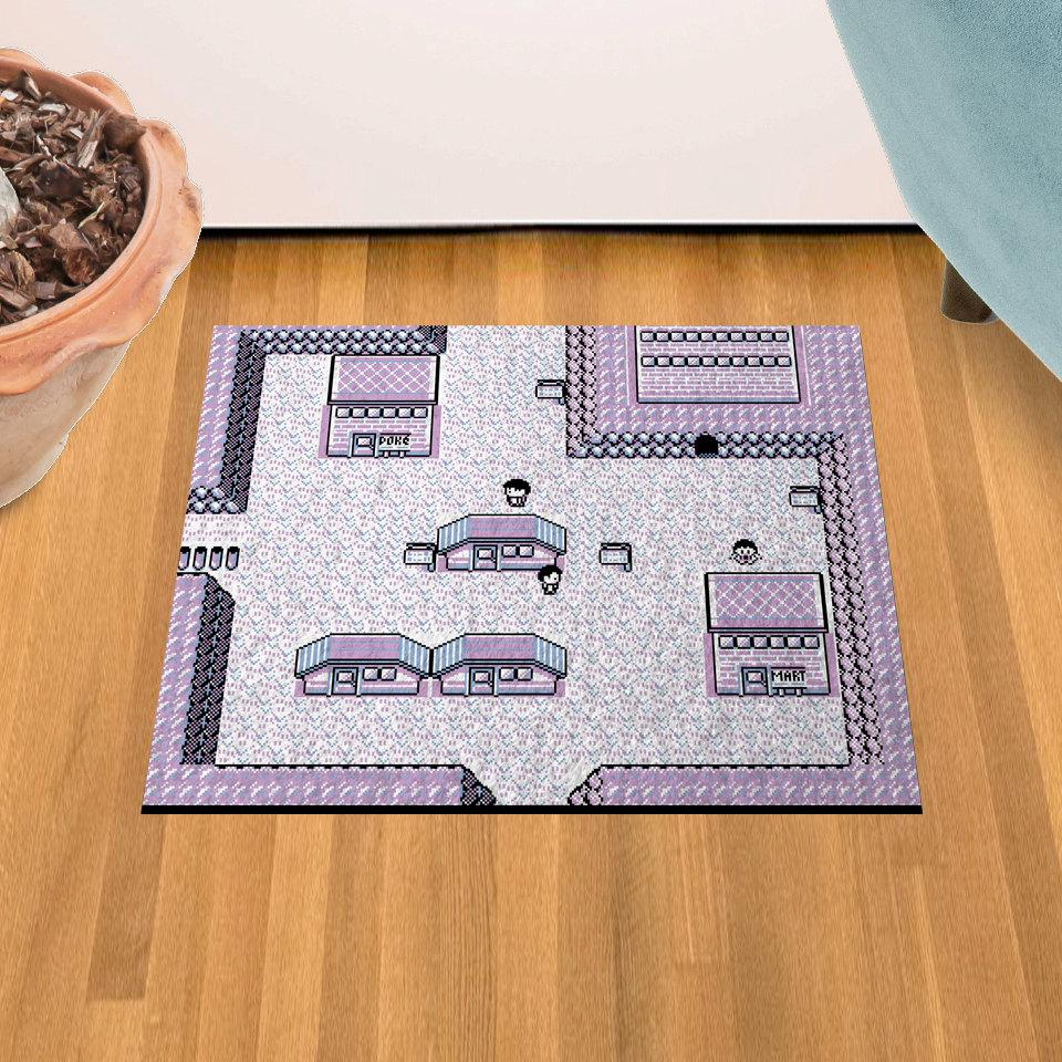 "Lavender Town 18"" x 24"" Doormat Welcome Floormat"