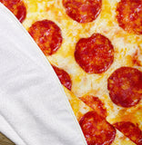 "Pepperoni Pizza 60"" Round Microfiber Beach Towel"