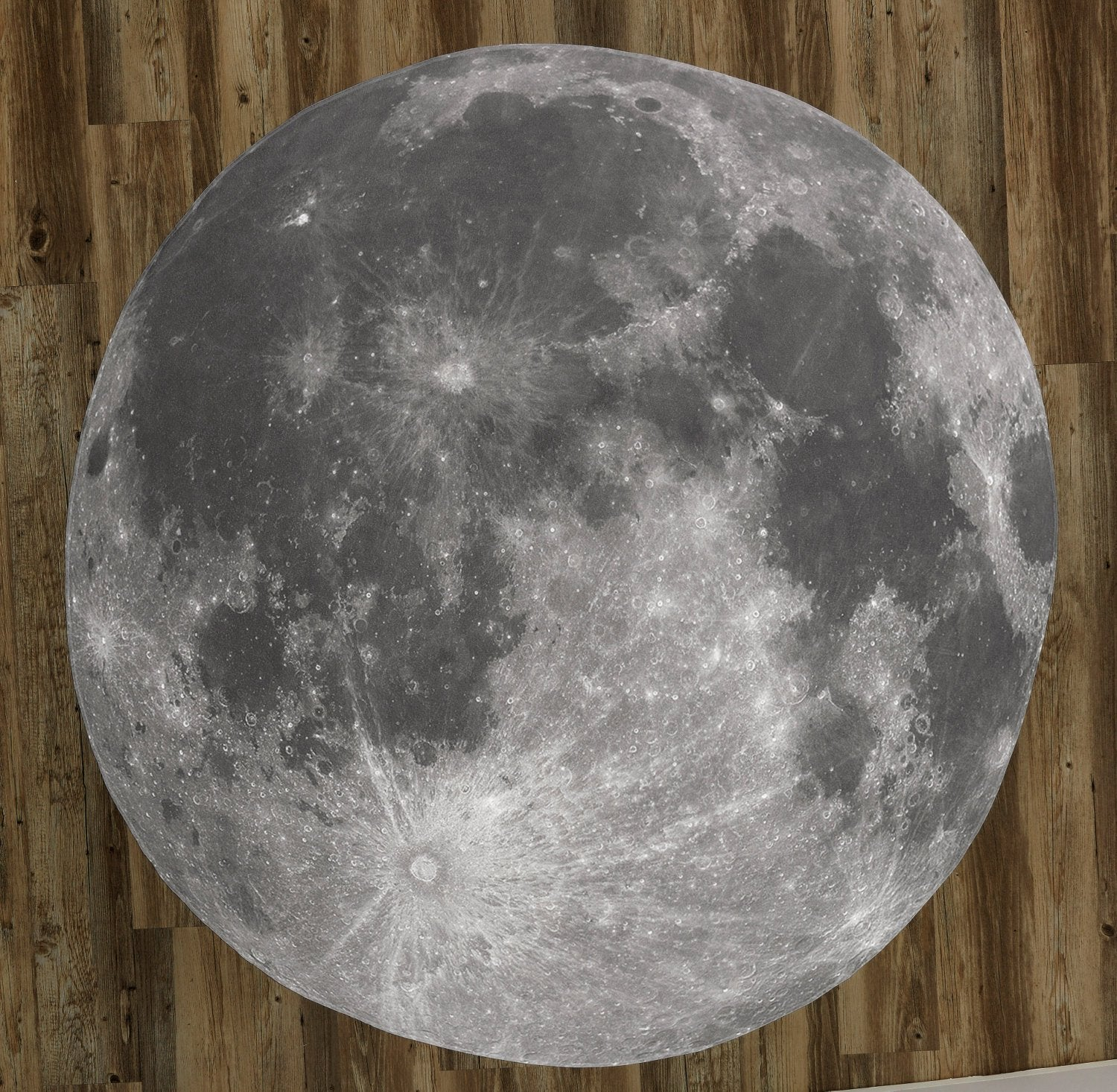 "The Full Moon 60"" Round Microfiber Beach Towel"