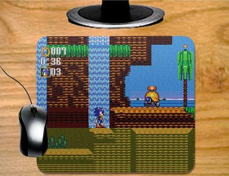 Sonic Triple Trouble Mousepad