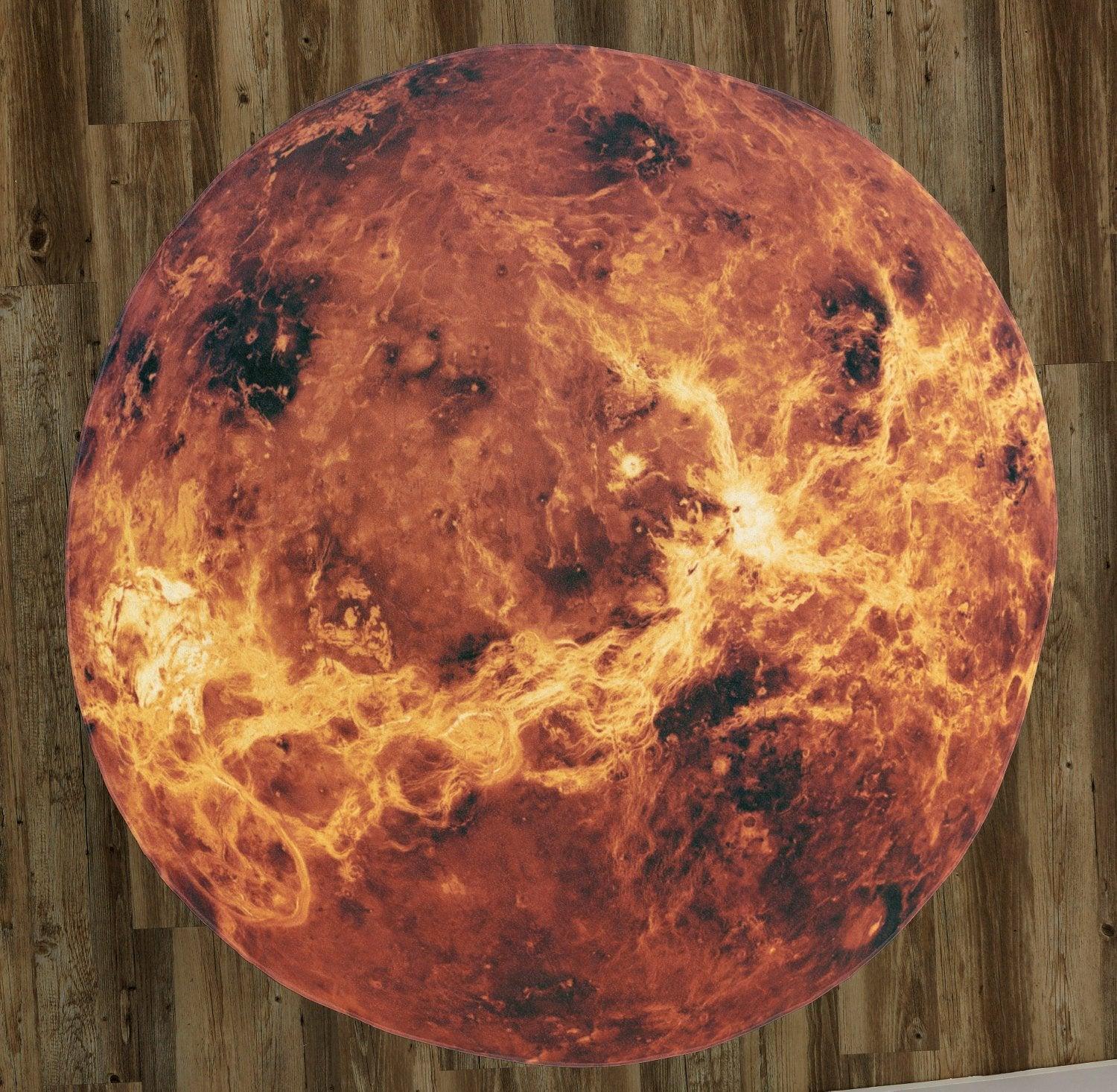 "The Planet Venus 60"" Round Microfiber Beach Towel"