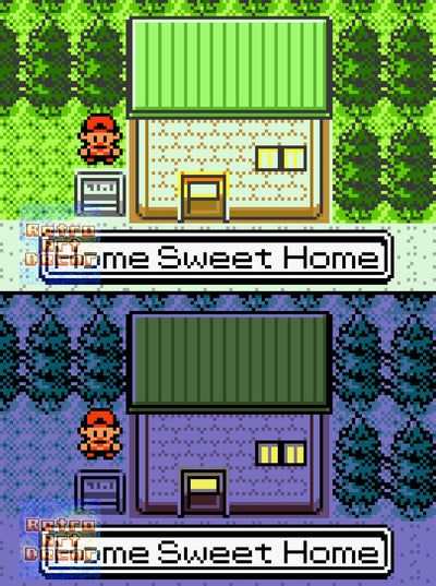 "Pokemon (Gen II), ""Home Sweet Home"" - 24"" x 36"" Doormat Welcome Floormat"