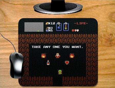 Legend of Zelda NES Mousepad