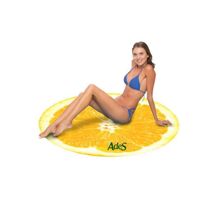 "The Planet Jupiter 60"" Round Microfiber Beach Towel"