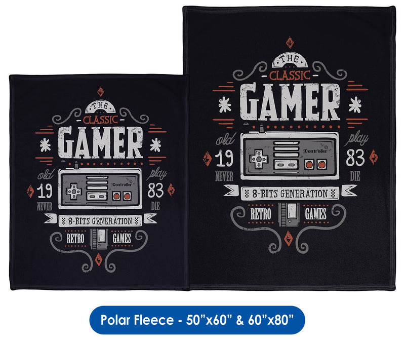 Gamer - Throw Blanket / Tapestry Wall Hanging