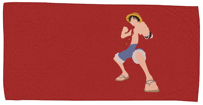 One Piece Luffy Beach Towel