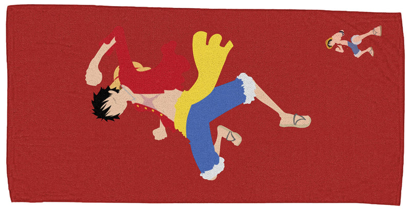 One Piece Luffy Duo Beach Towel