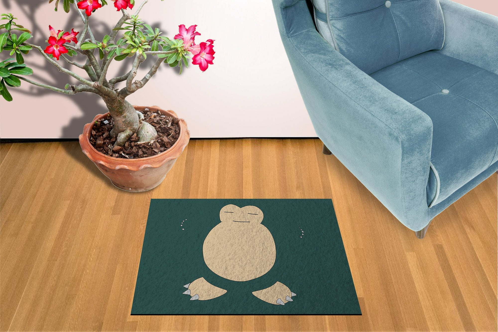 Snorlax Welcome Mat
