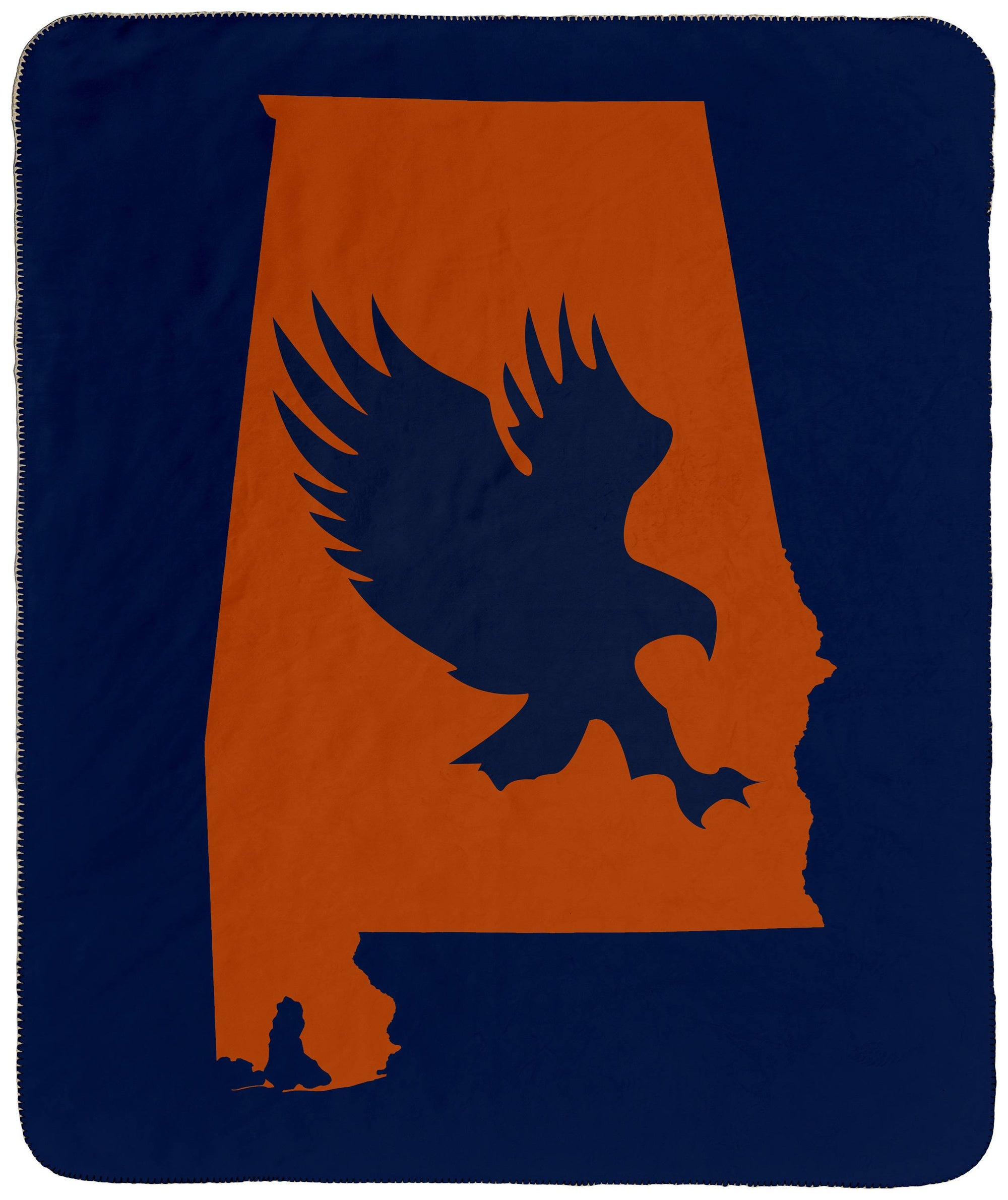 Auburn War Eagle - Throw Blanket