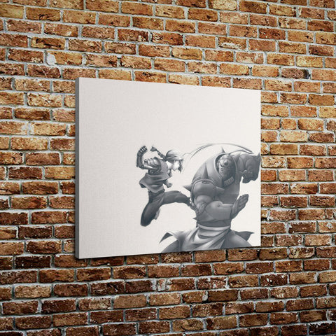 "Full Metal Alchemist - Brothers Print On Canvas (20"" x 24"" x 1.5"")"
