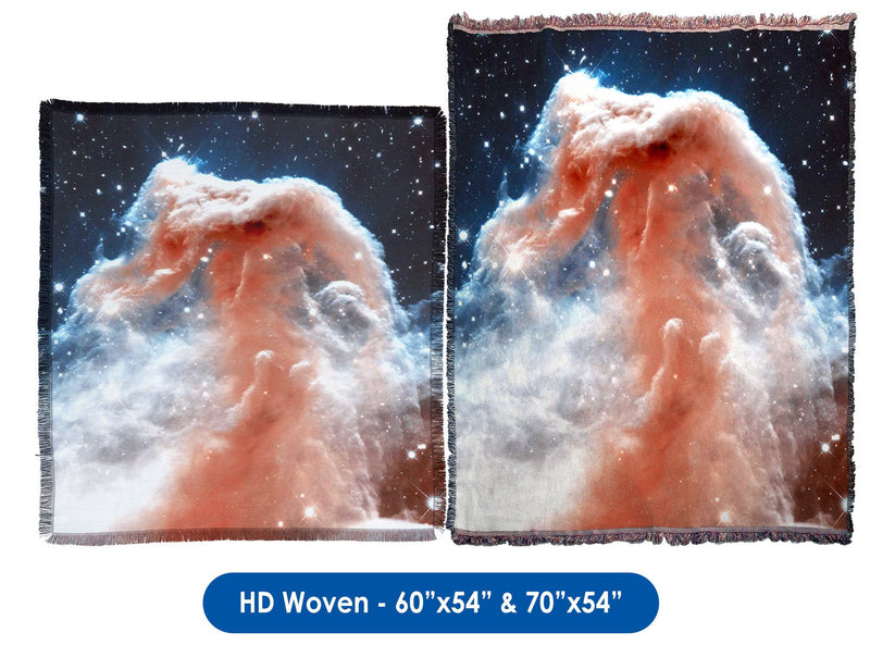 Horsehead Nebula - Throw Blanket / Tapestry Wall Hanging