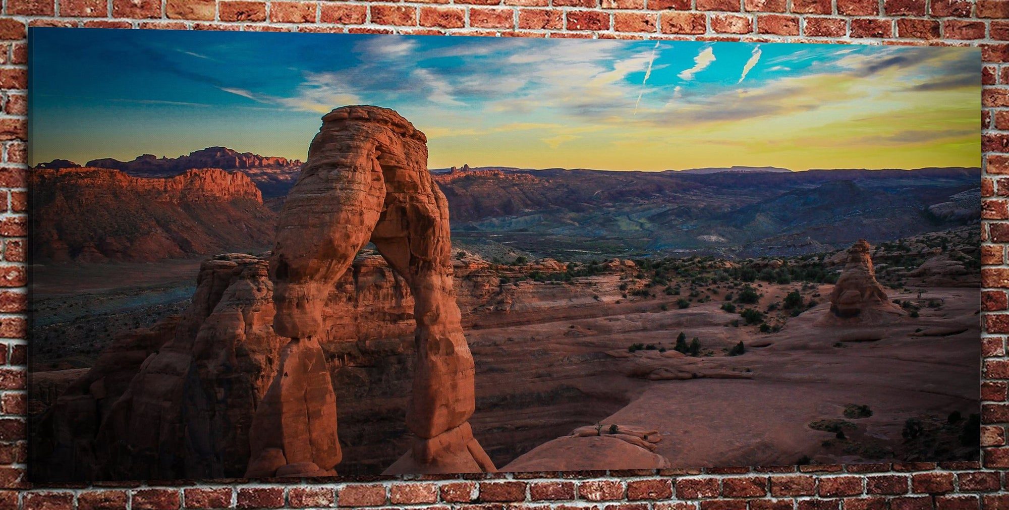 "Arches National Park (32"" x 48"") - Canvas Wrap Print"