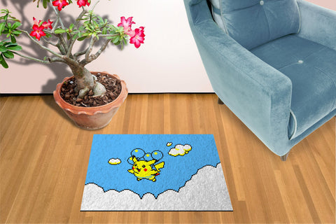 Flying Pikachu Pokemon - Doormat Welcome Floormat
