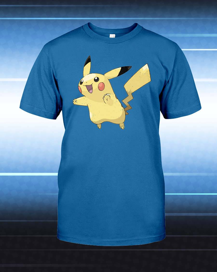 Pikachu Unisex T-Shirt - Any Color Shirt Available