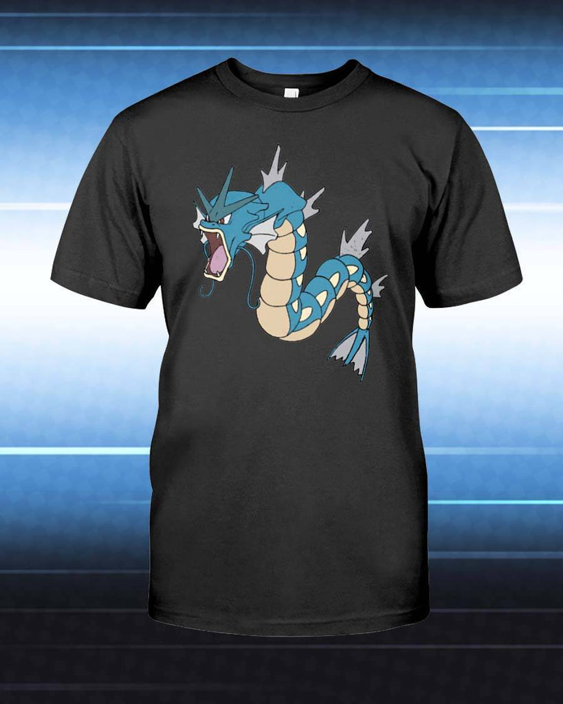 ec219e35 Gyarados Unisex T-Shirt - Any Color Shirt Available – PersonalThrows
