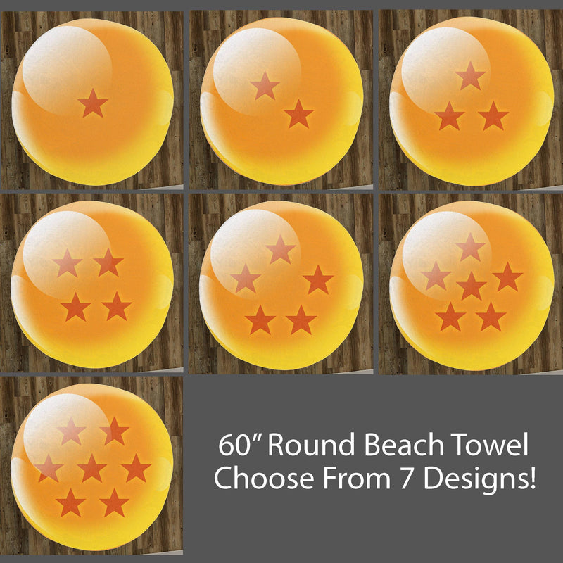 Dragon Ball Circular Towel