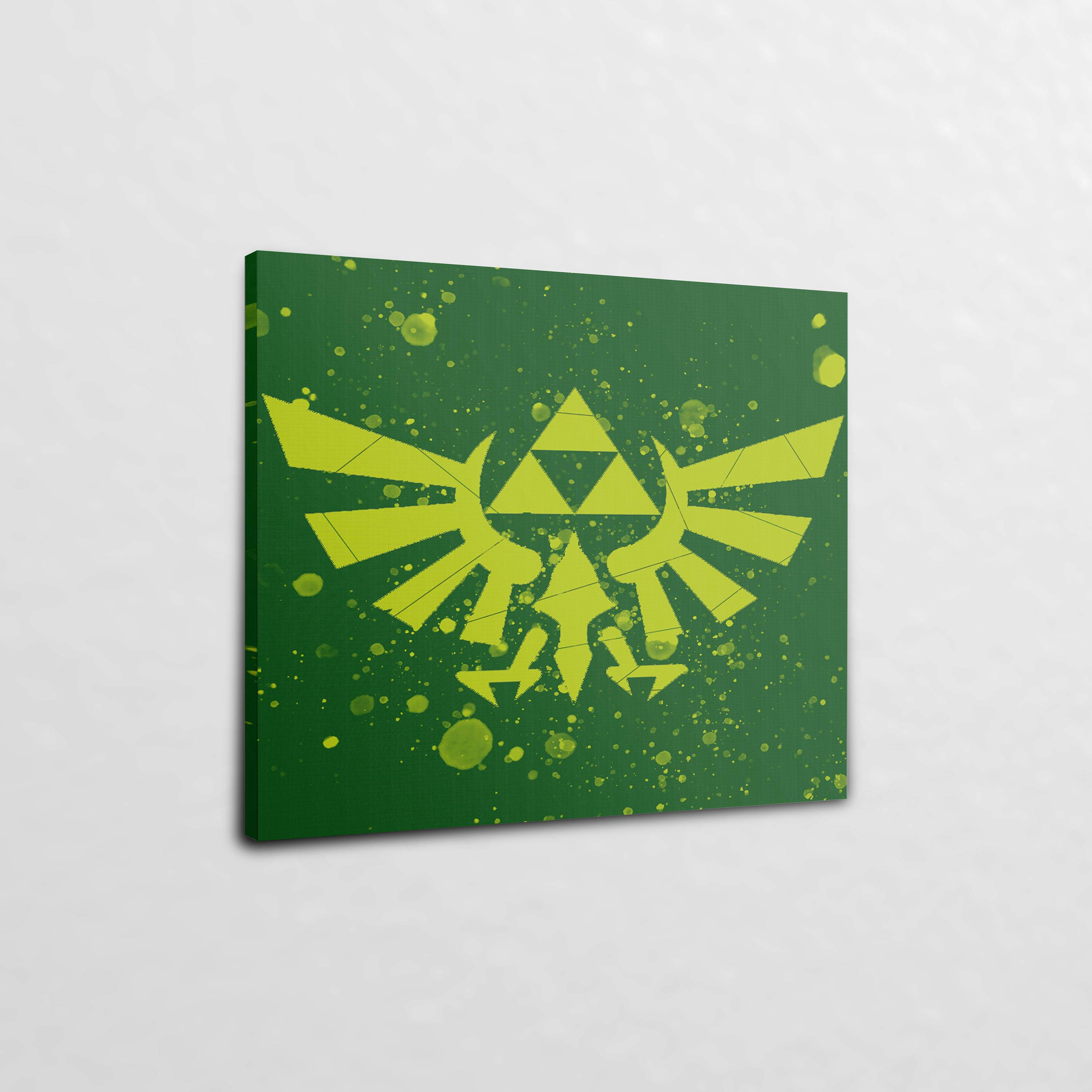 The Legend of Zelda Triforce (24″ x 30″) – Canvas Wrap Print