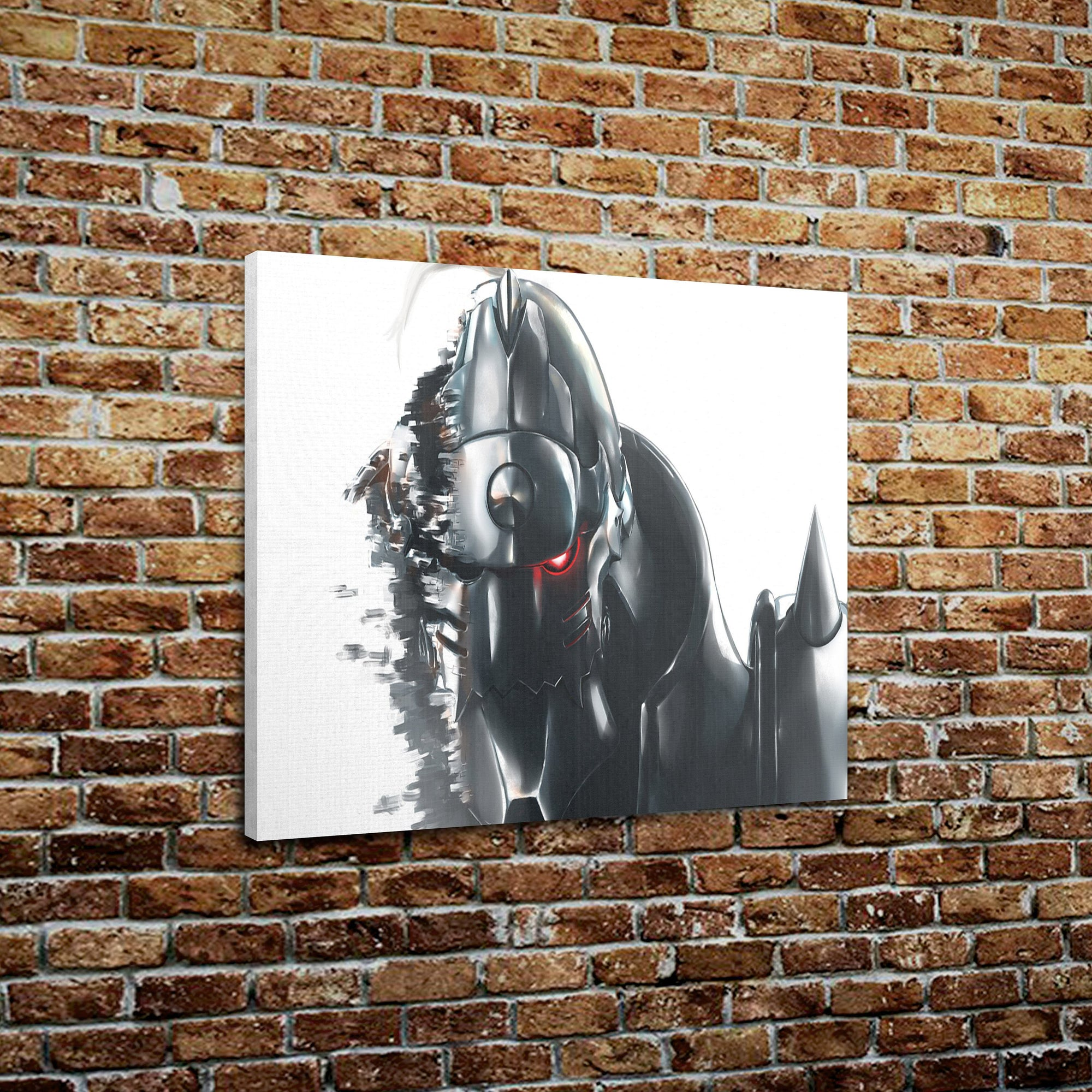"Full Metal Alchemist - Alphonse Print On Canvas (18"" x 24"" x 1.5"")"
