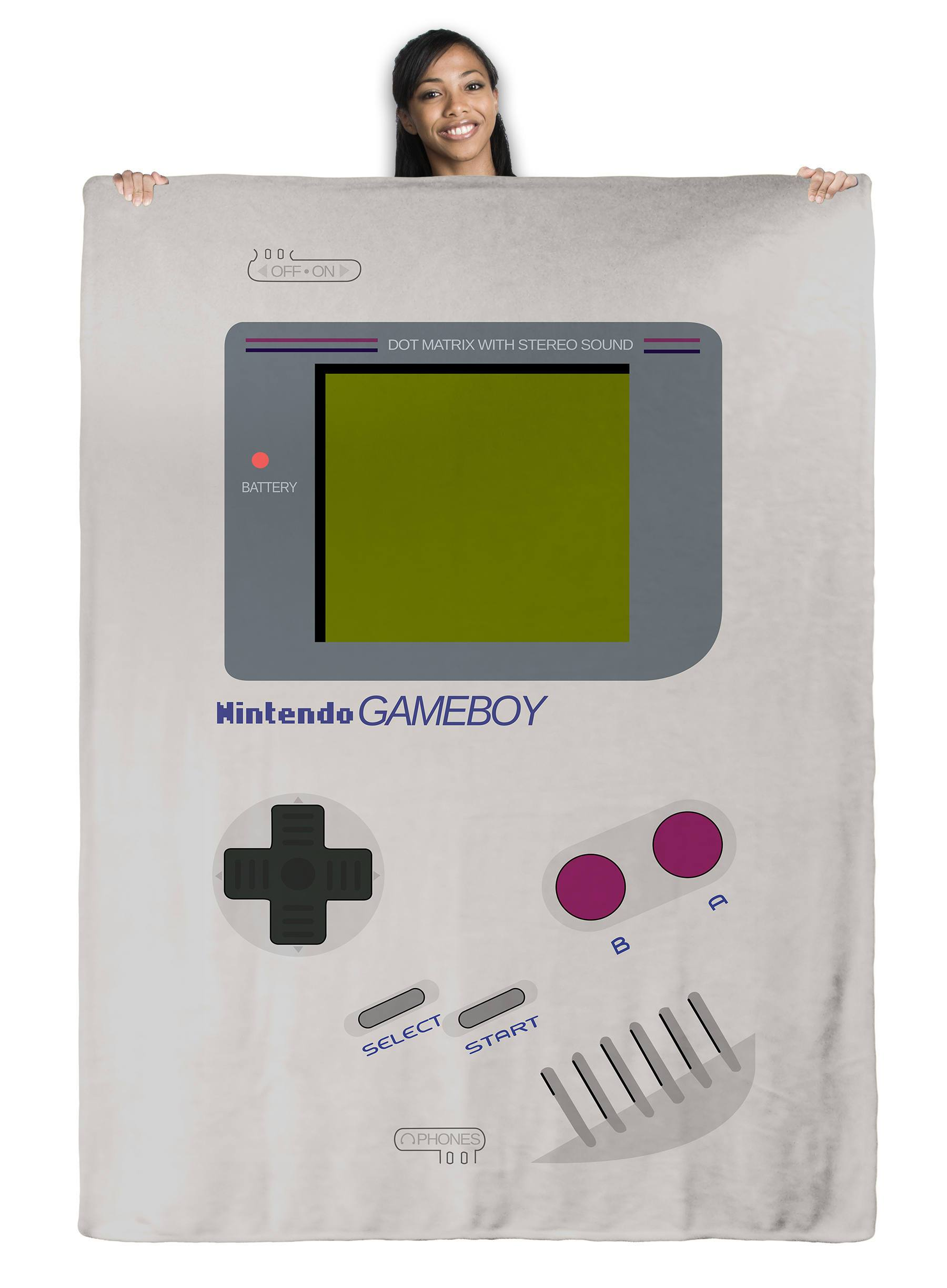 GameBoy - Throw Blanket