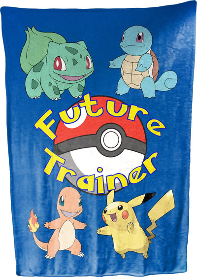 "Future Trainer Baby Blanket 30"" x 40"" Plush Fleece Mini Blanket"