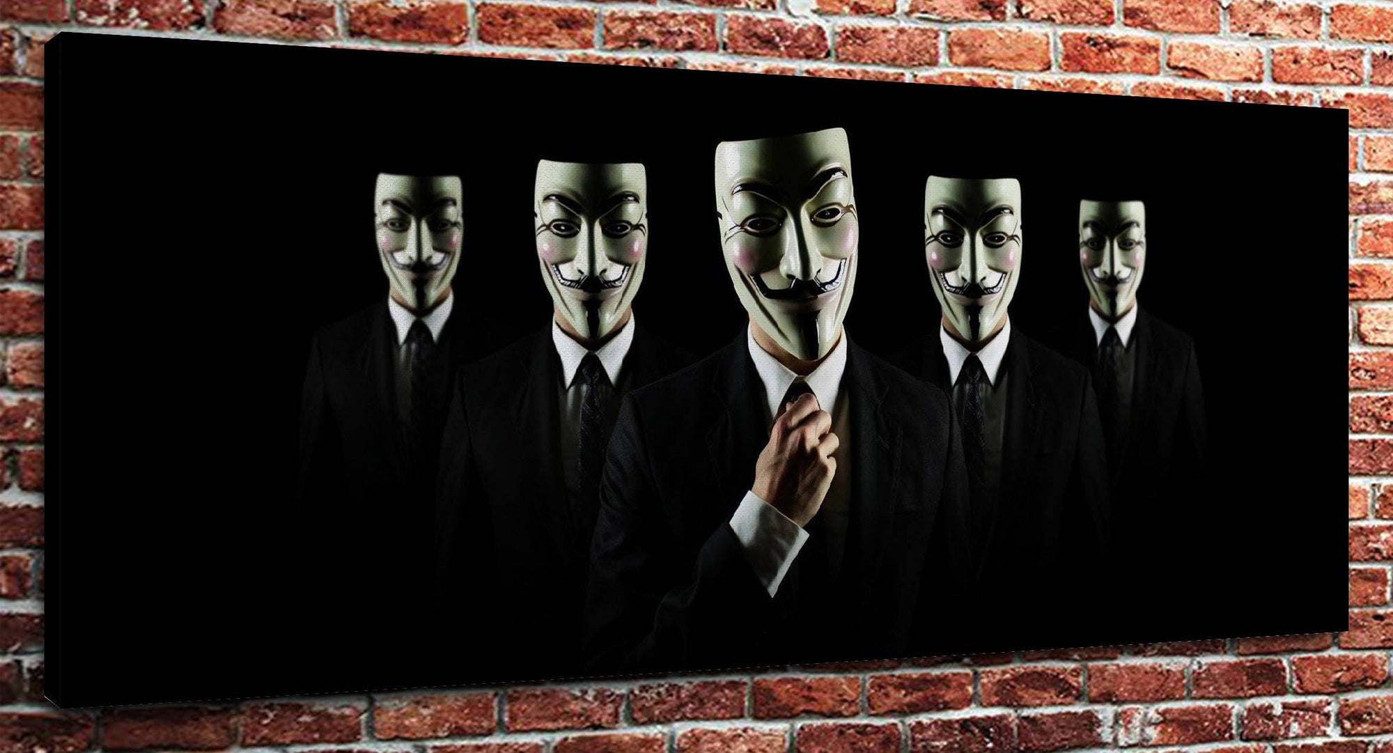 "Anonymous (16"" x 24"") - Canvas Wrap Print"