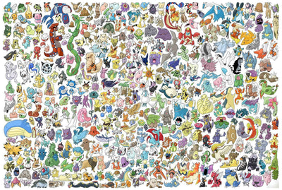 "Pokemon Characters - 18"" x 24"" Doormat Welcome Floormat"