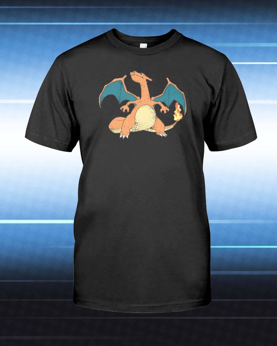 Charizard Unisex T-Shirt - Any Color Shirt Available