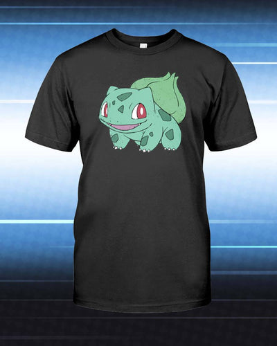 Bulbasaur Unisex T-Shirt - Any Color Shirt Available