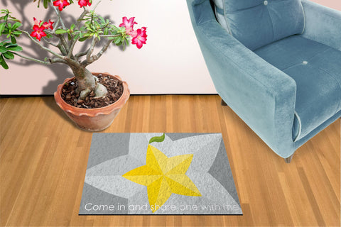 Paopu Fruit - Doormat Welcome Floormat