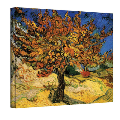"Art Wall Mulberry Tree by Vincent van Gogh Gallery Wrapped Canvas, 24"" by 36"""