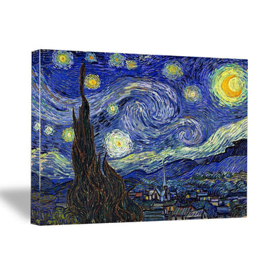 "Vincent van Gogh, ""Starry Night"", 16"" x 20"" x 1.5"" Canvas Gallery Wrap Print"