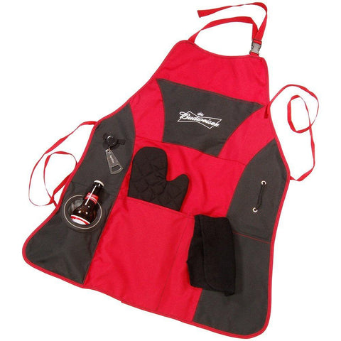 "Budweiser ""Grill Master"" Apron Kit"