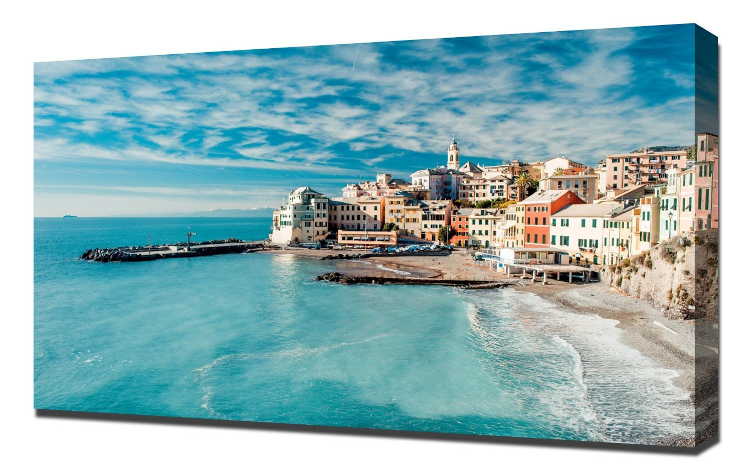 "The Cinque Terre View - Canvas Art Print (24""x36"")"