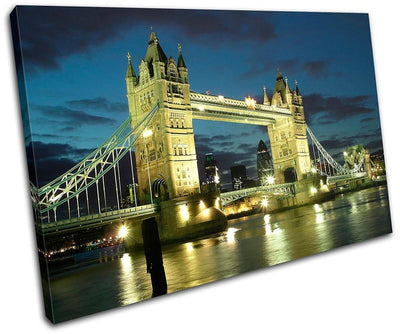 London Tower Bridge Architecture - Canvas Art Print