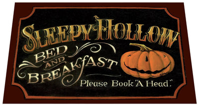 "Sleepy Hollow Door Mat 18"" x 24"" - Halloween"