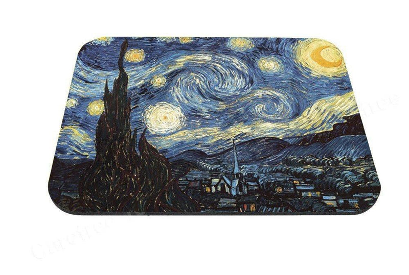 Starry Night Design, Van Gogh Anti-slip Mouse Pad