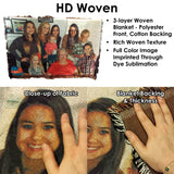 HD Woven Photo Collage Blanket
